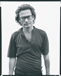 Richard-Avedon-at-Robert-Frank's,-Mabou-Mines,-Nova-Scotia,-July-17,-1975